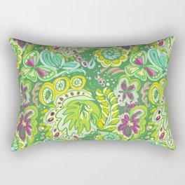 FowerPower green Rectangular Pillow