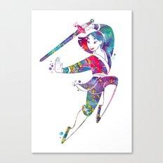 Princess Mulan Canvas Print