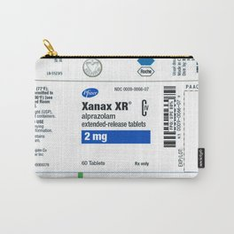 Drug Labels Carry-All Pouch