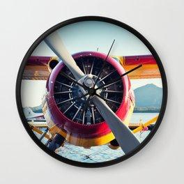 Float Plane Wall Clock