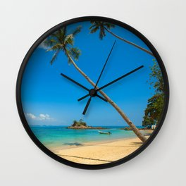 Happy Place Wall Clock