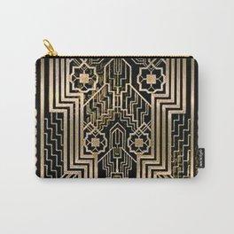Art Nouveau Metallic design Carry-All Pouch