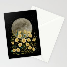 Greeting the Moon - Evening Primrose Stationery Cards