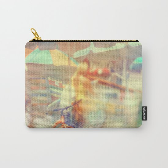 Seaside Town Carry-All Pouch