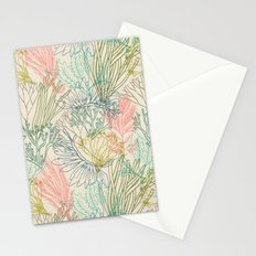 Flowing sea Stationery Cards