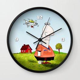 Little UFO Wall Clock