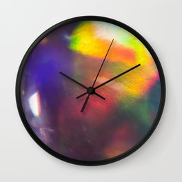 Prism Play of Light 6 Wall Clock