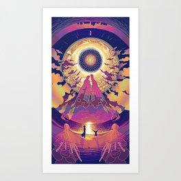 Neuromancer : Babylon Art Print