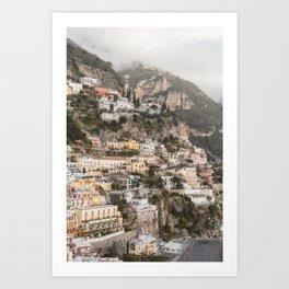 Positano, Amalfi Coast II Art Print