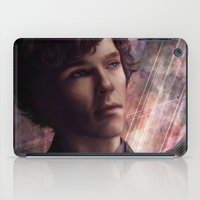sherlock iPad Cases featuring Sherlock by jasric