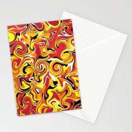 Mountainous Eruption Stationery Cards