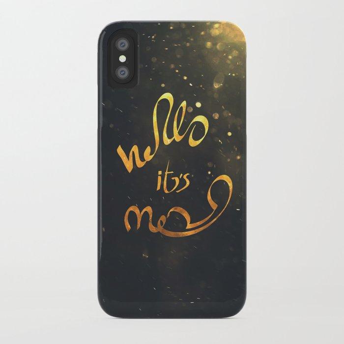 adele hello iPhone Case