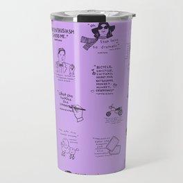 Gilmore Girls Quotes in Purple Travel Mug