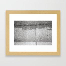 Crossings Framed Art Print