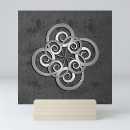 Beautiful Celtic style design Mini Art Print