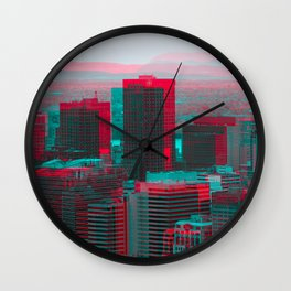 Surreal Montreal 9 Wall Clock