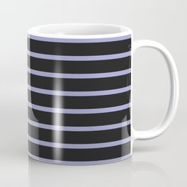 Black & Lavendar Coffee Mug
