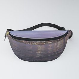 Between Two Iconic New York Bridges Fanny Pack