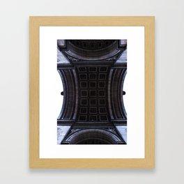 Arch de Triumph Framed Art Print
