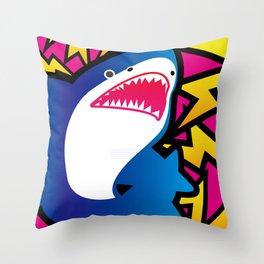 Shark!! Throw Pillow