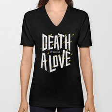 Death from a love Unisex V-Neck