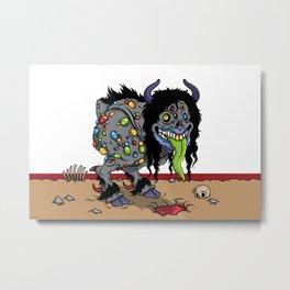 Bipedal Styx Walker Metal Print