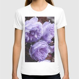 Light lilac Rose Lainie T-shirt