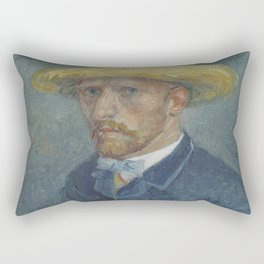 Portrait of Theo van Gogh Rectangular Pillow