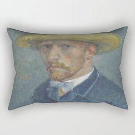 Portrait of Theo van Gogh Rectangular Pillow