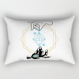 Symmetra Tarot Rectangular Pillow