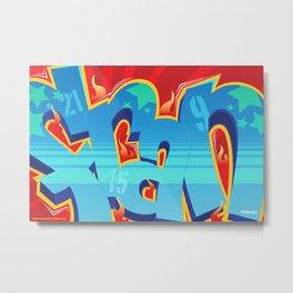 Crossfit (WOD) Poster - FRAN Metal Print