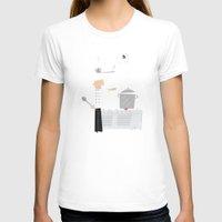 chef T-shirts featuring Cuckoo Chef by Marcelo Badari