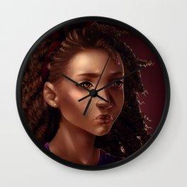 Hazel Levesque Wall Clock