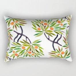 Bonsai Tree – Orange Fruit Rectangular Pillow