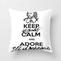 theatre Throw Pillows featuring Love Theatre! by MeltingMiltons