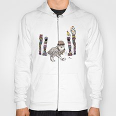 Owl in the City of Hearts Hoody