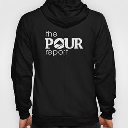 The Pour Report (White) Hoody