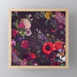Astro Garden Framed Mini Art Print
