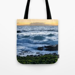 The Sun Always Rises Amidst The Storm Tote Bag