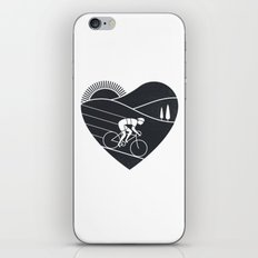 Love Cycling iPhone & iPod Skin