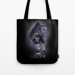 Doctor Who: Listen Tote Bag