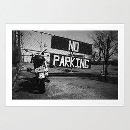 No Parking; No Respect Art Print