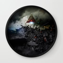 Age of Tomorrow Wall Clock