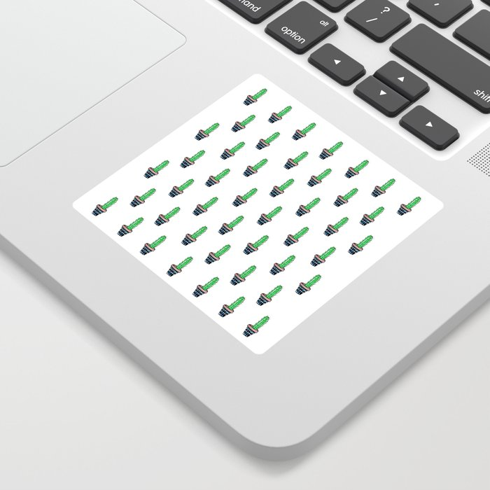 PATTERN II Geometric Cacti Sticker