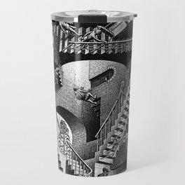 M.C. Escher - Relativity Travel Mug