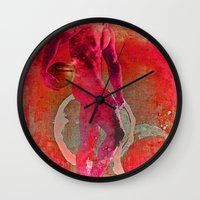 atlas Wall Clocks featuring atlas by Robert Alan