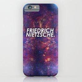 Nietzsche Space iPhone Case