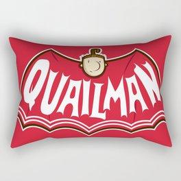 Quailman Rectangular Pillow
