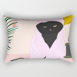 After a week of Quarantine Art Print Rectangular Pillow