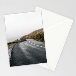 Misty Lonely Road Stationery Cards